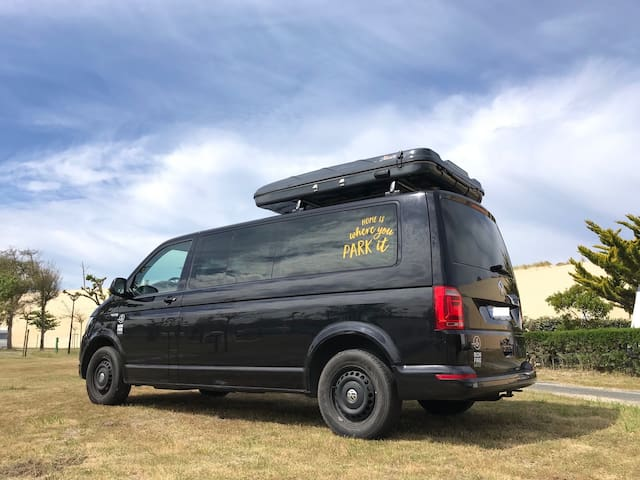 VW Camper & Rooftop Tent (sleeps 4)
