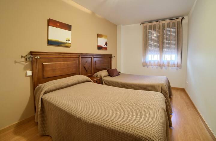 Apartamentos Rurales Sierra de  Gudar - Apartamento 2 habitaciones (6 personas máximo).  - Tarifa estandar
