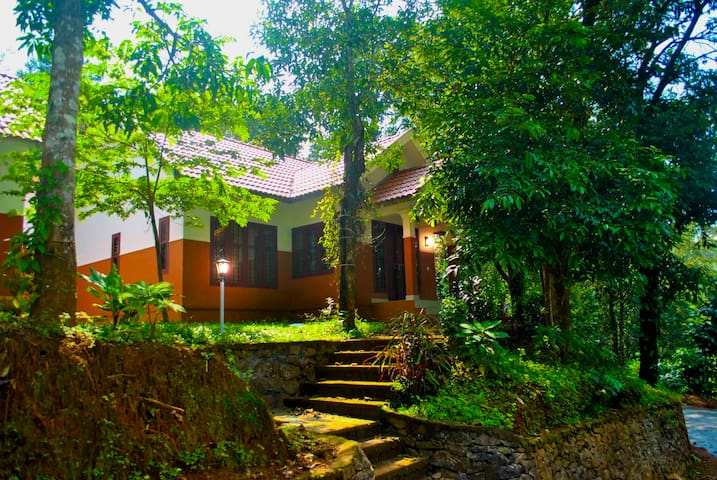 2 Bedroom Private Villa with a View at Wayanad
