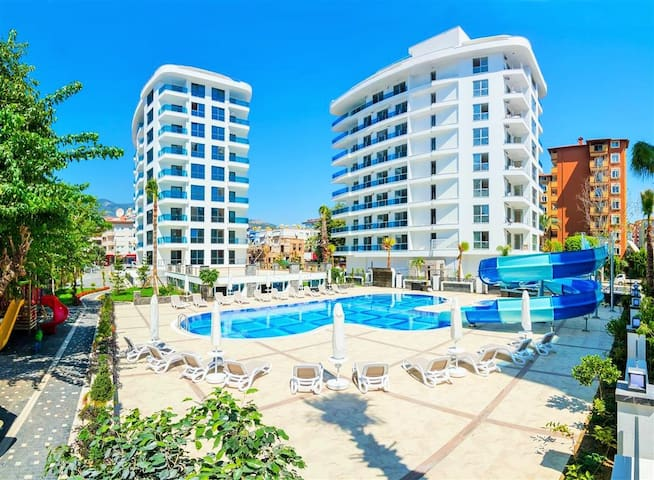 Alanya luxury apartment in Cleopatra