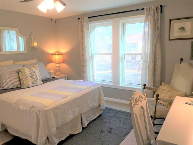 Nice sized upper level bedroom.