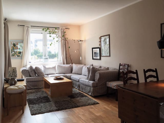 Cozy place near park, 15 min from City Centre - Gdansk - Departamento