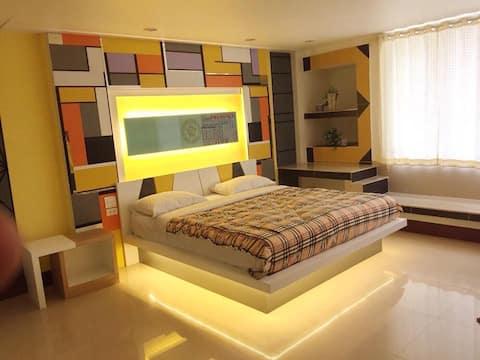 Win Hotel Single bed Room 2