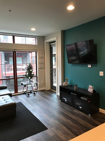 Luxury loft- Short North- Parking Included - Columbus - Daire