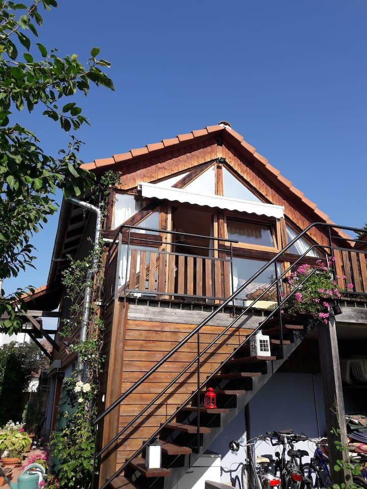 Loft cosy 60m2 à 5mn de Colmar dans le vignoble