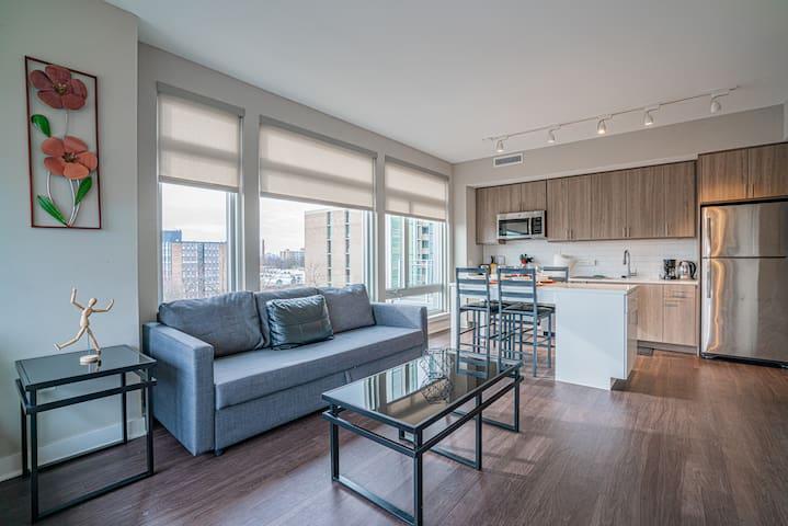 1 Bedroom Apartment - 2 blocks from Potomac River
