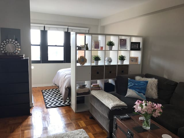 Charming, newly-renovated studio apt in Old Town - Alexandria - Appartement