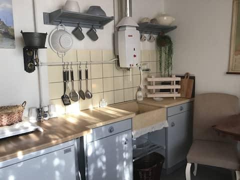 Vintage Vakantiehuisje in Egmond aan Zee