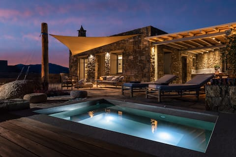 VIlla Kele-heated outdoor jacuzzi- AG Villas