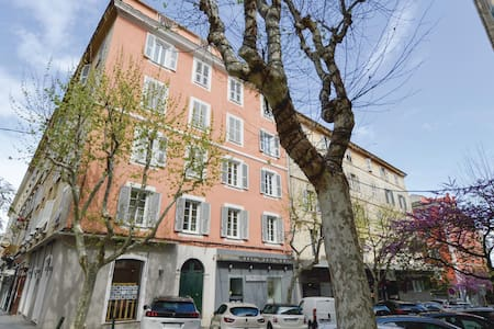 Holiday apartment with 1 bedroom on 39m² in Bastia
