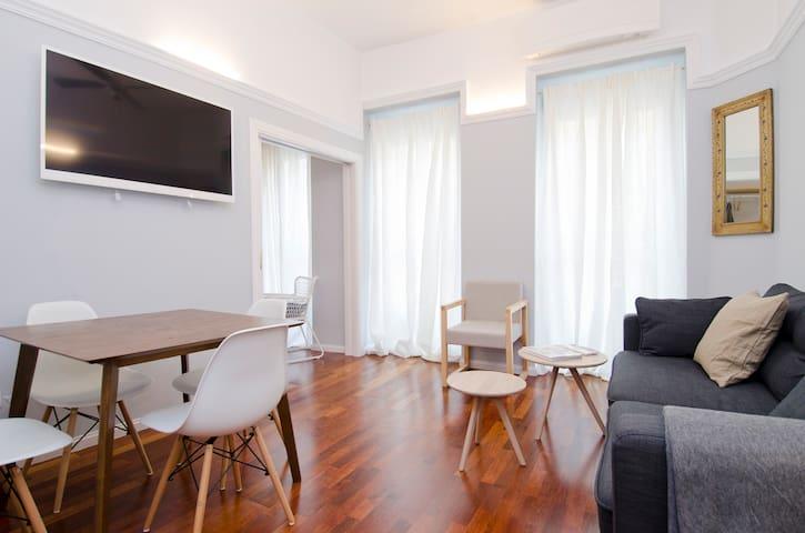 Lavapiés flat in Madrid city centre