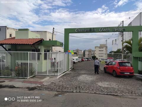 APARTAMENTO EM ALAGOINHAS MOBILIADO COND OURONEGRO