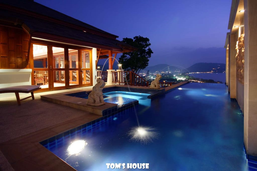 Sea view terrace with private pool 海景露台·私人泳池