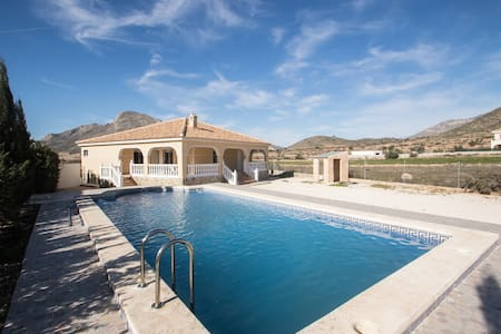 Nice detacted house with swimmingpool nearby ALC - Fondó dels Frares