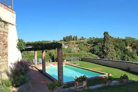 casa accogliente con piscina e piccolo giardino - Palaia