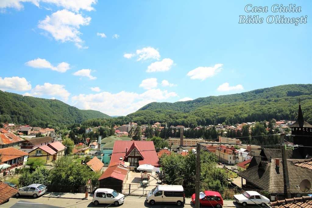 Baile Olanesti -  Apartment Balcony View
