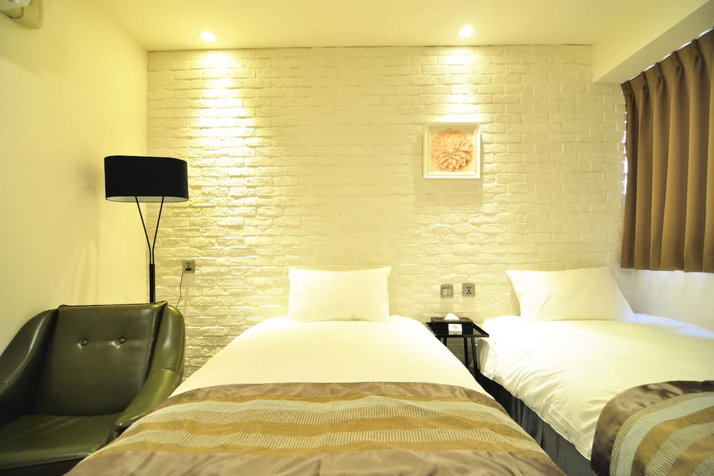 504-CLASSIC房 (Classic Room) TwinBed Room with Private Bathroom