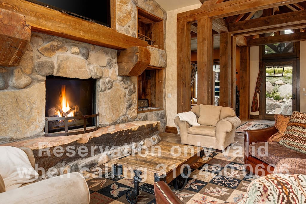 Cozy up in the expansive Great Room