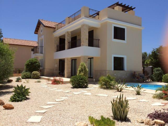 Latchi Villa with private pool