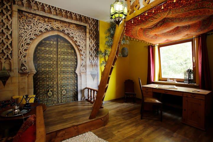Stilvolle orientalische Wohnung - Ratzeburg - Lägenhet