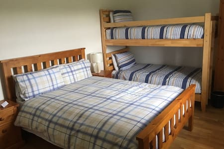 Comfortable Private Room Double Bed & Bunk Beds