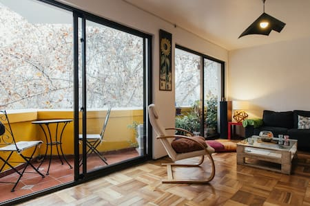 Private Room in front of the park - Providencia - Apartemen