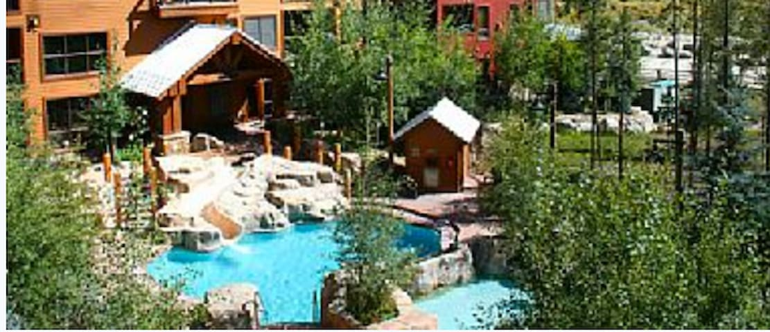Keystone 1bdrm King Bed, Great Pool, Pack n Play - Dillon - Apartament