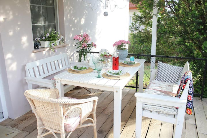 Apartment with garden and grill - Balatonfüred