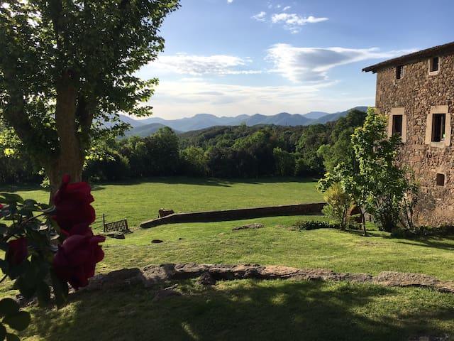 Cabana Callís 2/6 Pyrenees-Garrotxa - La Vall de Bianya - Chalet