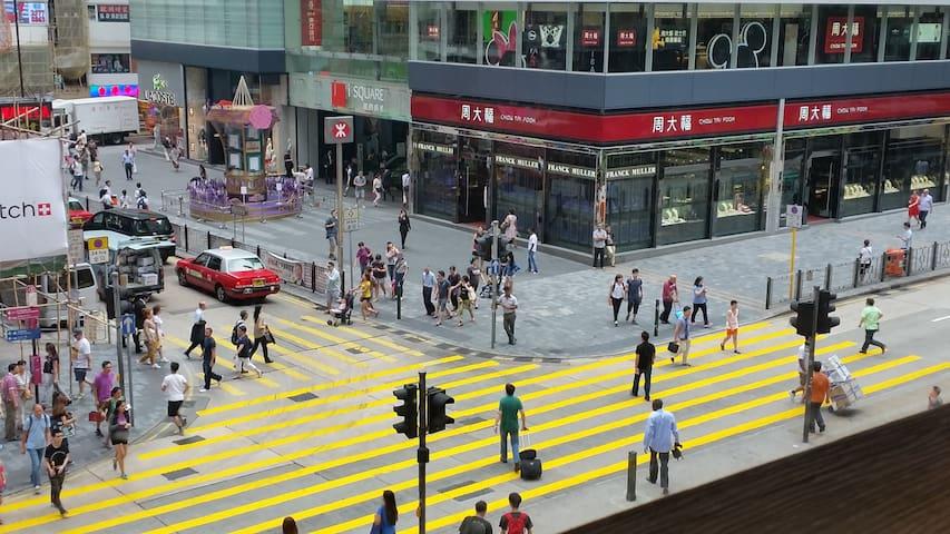 最靠近尖沙咀地鐵三人帶獨立衛浴套房 - Hongkong - Huoneisto