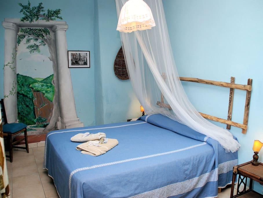 1 double bed room apartament ULIVETO borgofontelupo