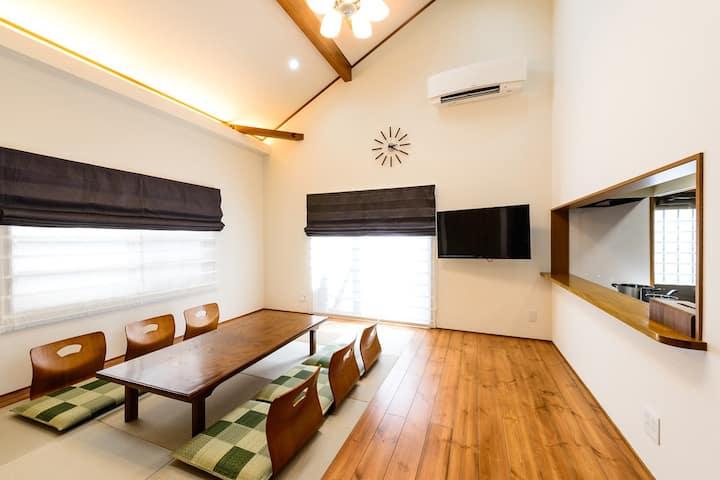 5 min STA  modern guest house Onsen  Internet