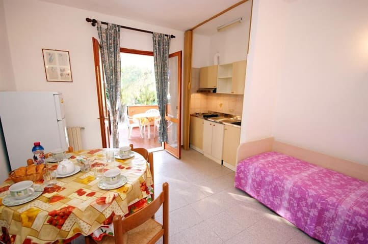Two-room Apartment A3 -Elba Island-Casa Dei Prati - Lacona