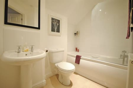 Private room and Bathroom in spacious flat. - Sidmouth
