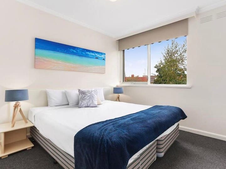 St Kilda central located one bedroom apartment