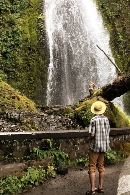 8 named waterfalls!