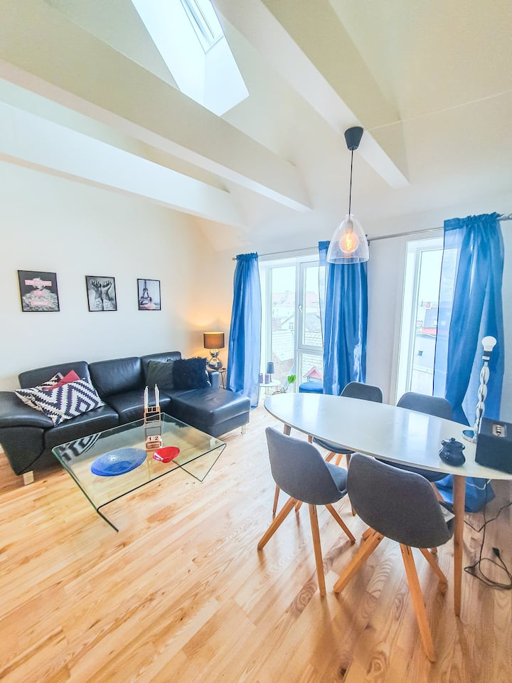 New penthouse apartment in the center of Esbjerg