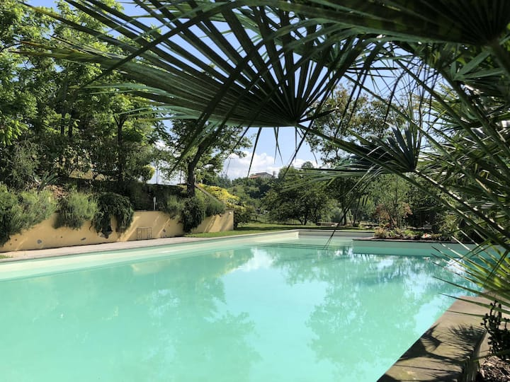 P. Poeti 12Pax Pool A/C Wifi BBQ near 5 Terre
