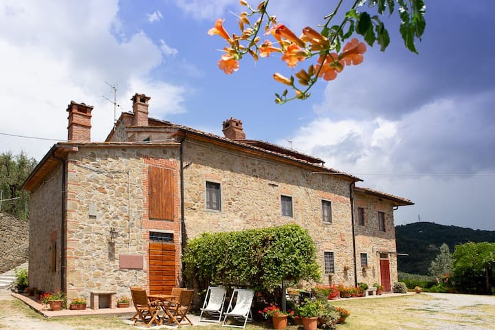 Villa Mandorlo with swimming pool open from March