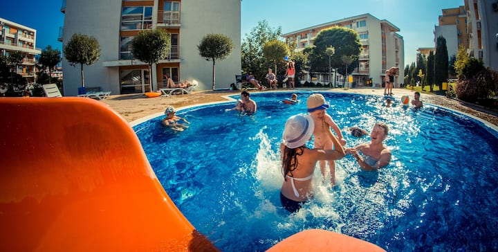 Visit Sunny Beach Malina Sea&Pool View Studio