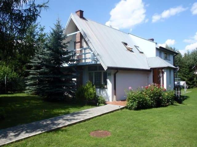 Dom w Białobrzegach, koło Płocka - Białobrzegi