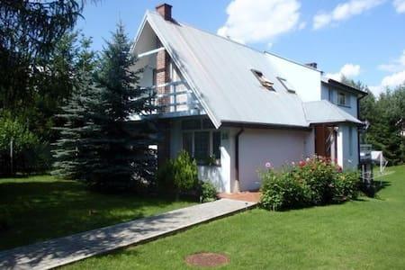 Dom w Białobrzegach, koło Płocka - Białobrzegi - Rumah