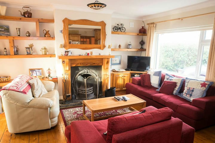 Cozy cottage 30km to Dublin. Double bedroom