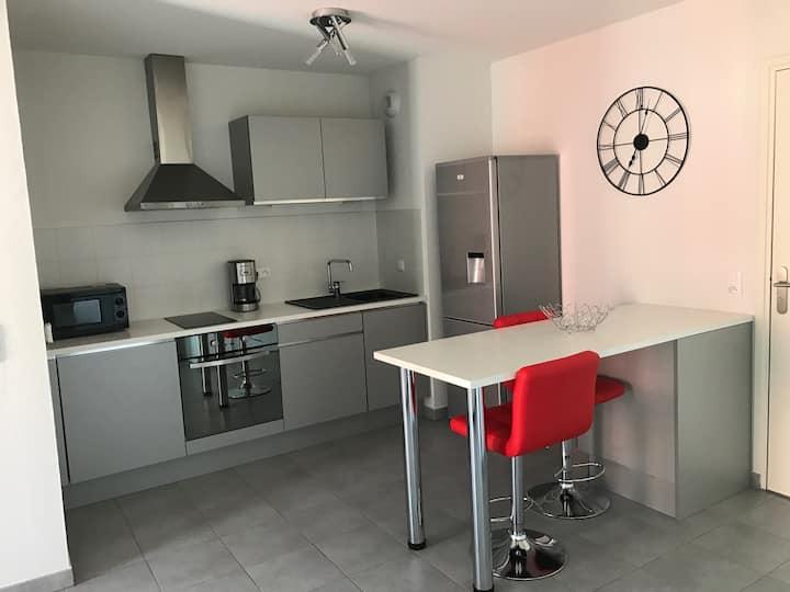 Appartement T2 proche des plages et de Montpellier
