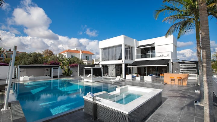 Luxury super home Ayia Napa with astonishing views