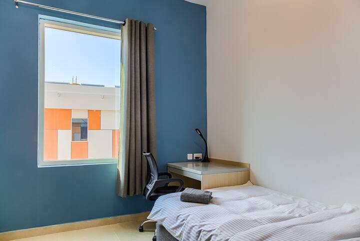 Twin stay room - Dubai Academic City