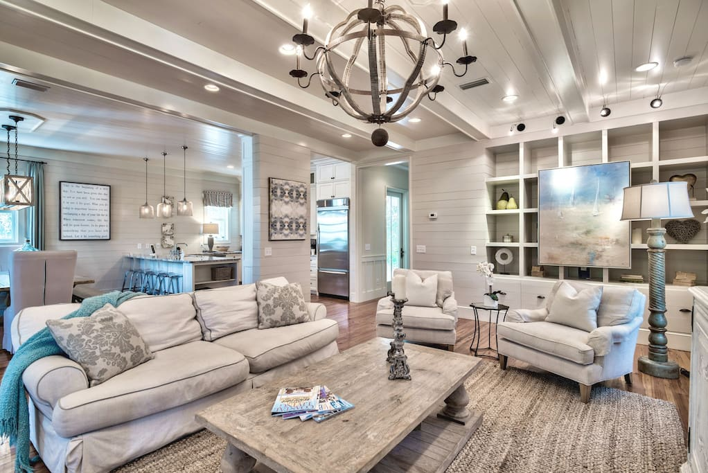 Open concept living at it's finests