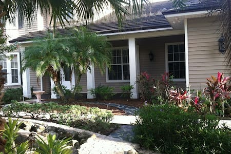 Private Estate Home in Town - Palm City