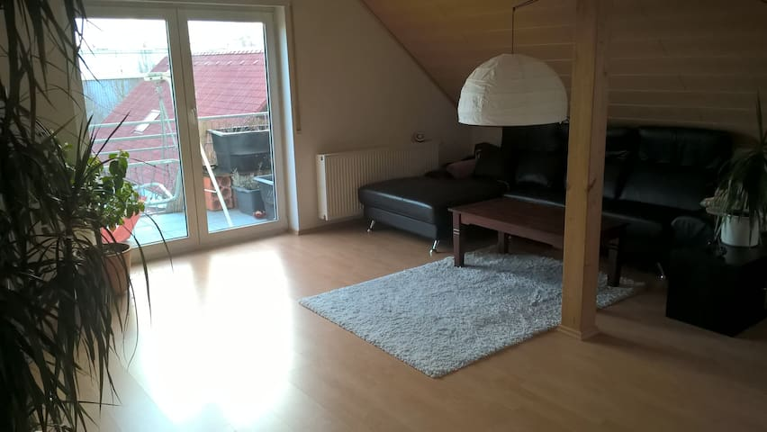 Skandinavisch eingerichteter Wohnungstil