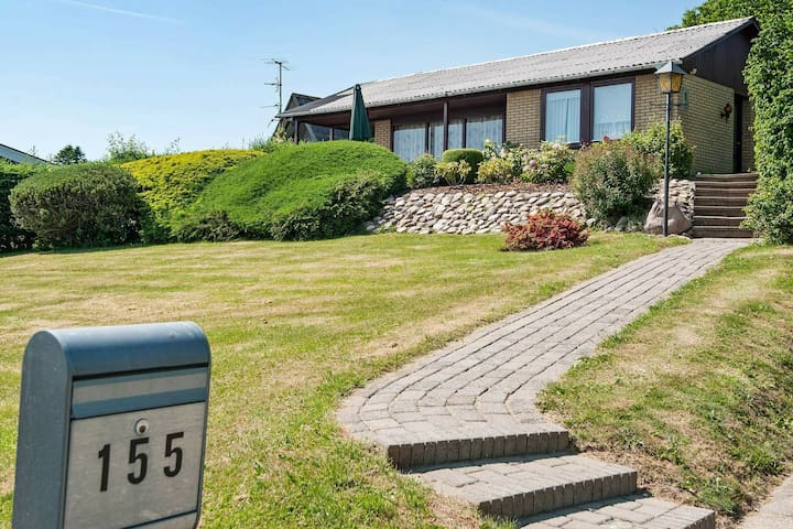 Stunning Holiday Home in Aabenraa Denmark with Barbecue